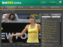 Be365 Tennis Betting