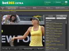 Be365 Tennis Betting