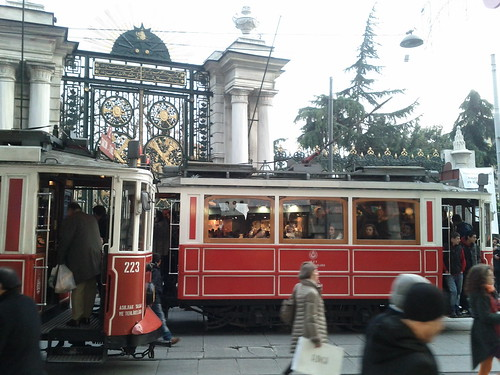 The Original Trams to Taksim Sq.