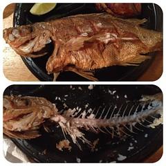 grilling(0.0), churrasco food(0.0), brisket(0.0), roasting(1.0), smoked fish(1.0), fish(1.0), fish(1.0), meat(1.0), food(1.0), dish(1.0), cuisine(1.0),