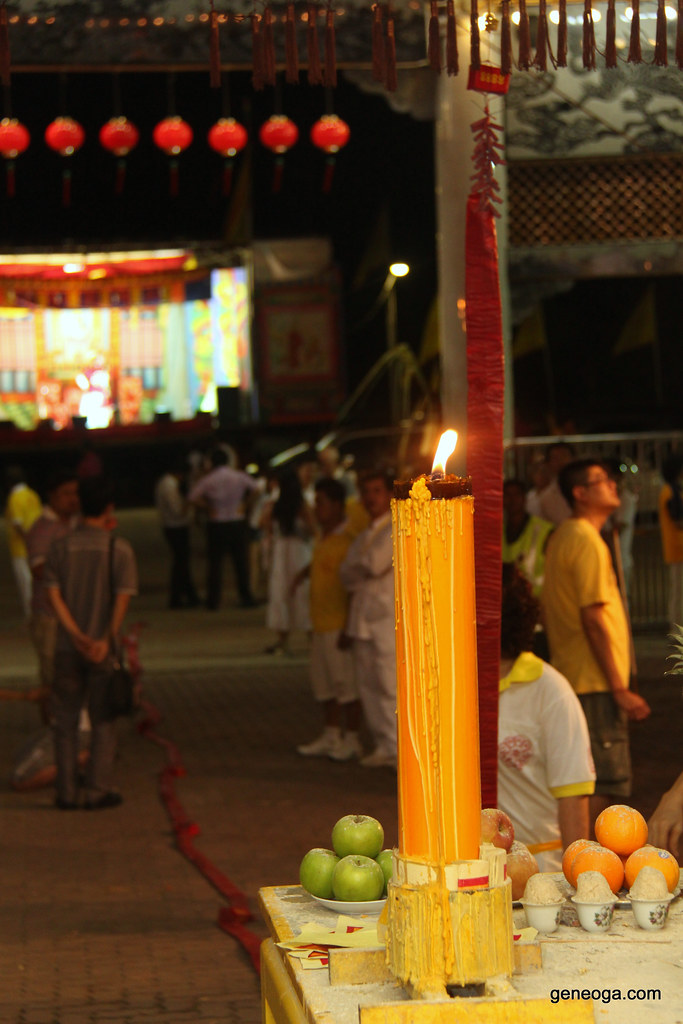 Huge Yellow Candle