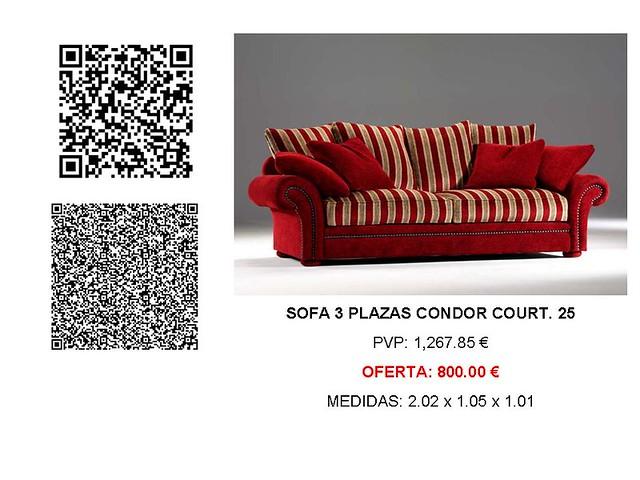 Etiqueta identificación sofá