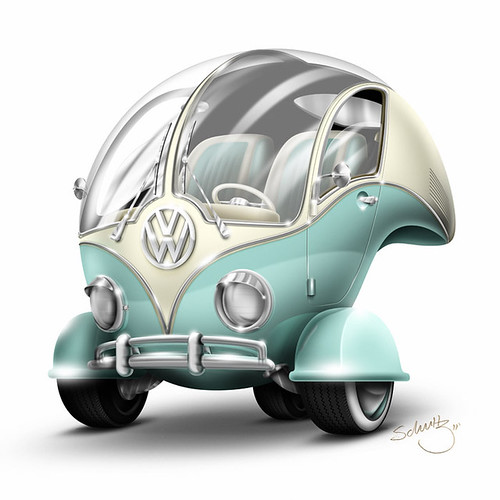 Volkswagen Bubble by Marcelo Schultz