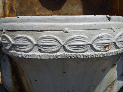 Detalle surtidor de agua-Fuente de pared-Tanques de agua-San José by Reyleomessi