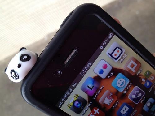 我的 iPhone 4 耳機塞