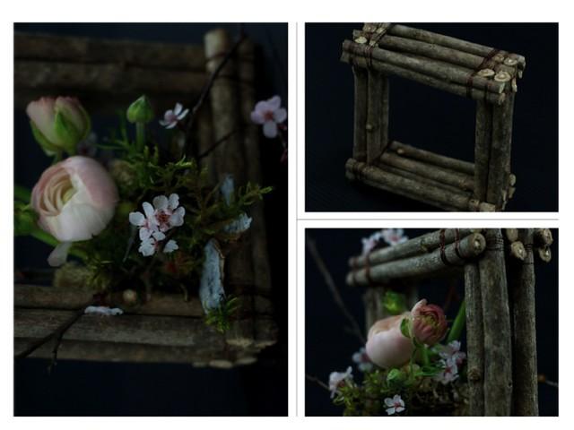 Woodsy inspiration- Ranunculus