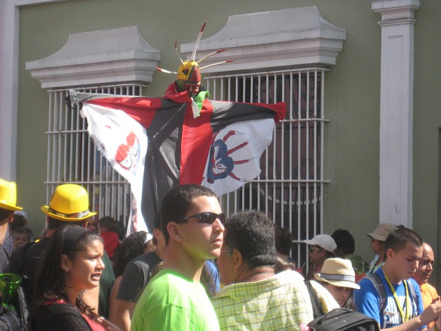Vejigante Calle San Sebastian