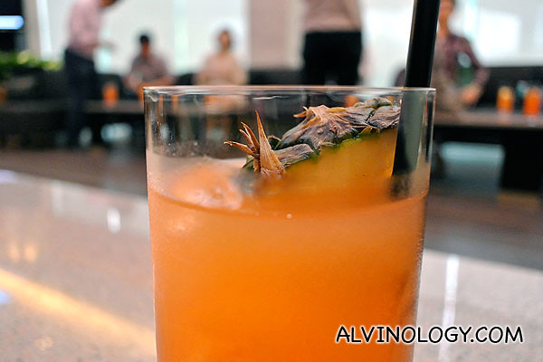 Welcome pineapple juice