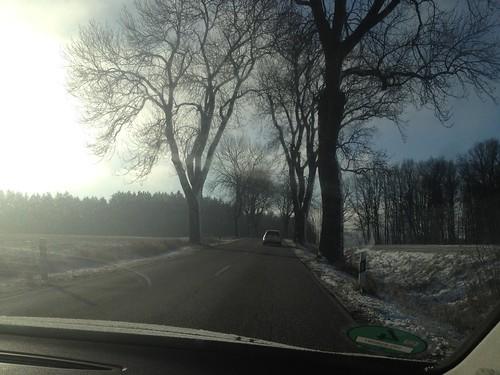 Driving towards Kelheim