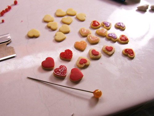 Valentine cookies wip