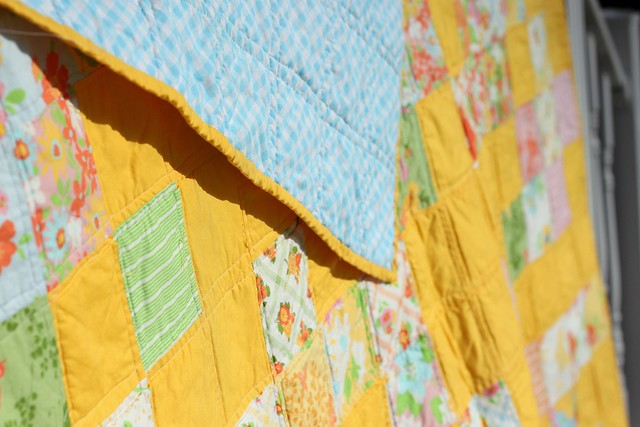 Dream On Quilt - close up