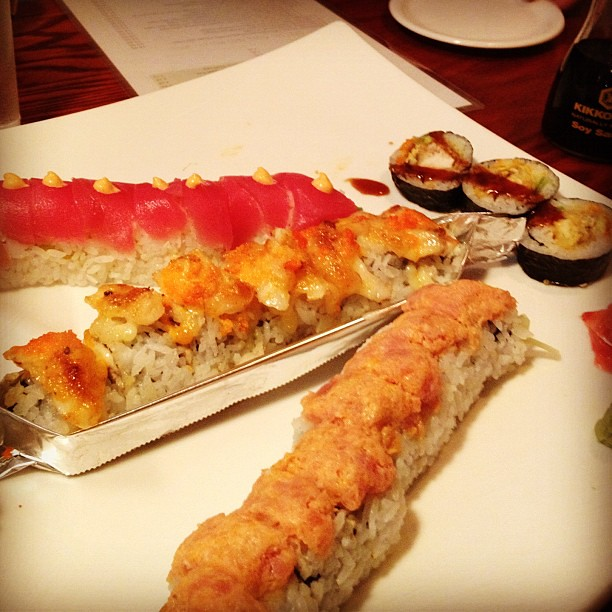 16/365+1 Worth The Wait #sushi #nomnom #goneinthreeminutes