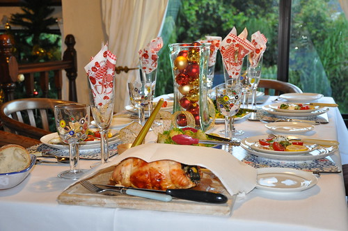 Harte Christmas Table set