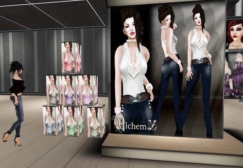Outfit jeans+shirt & shirt by Cherokeeh Asteria