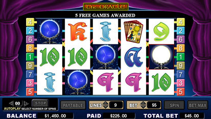 The Oracle free spins