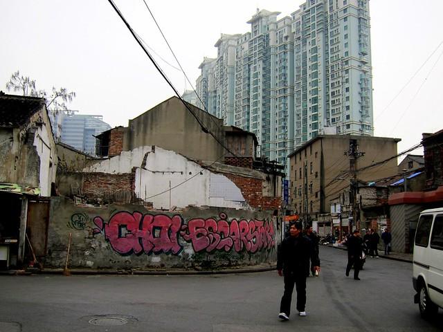 graffiti | escar . storm . chai | shanghai