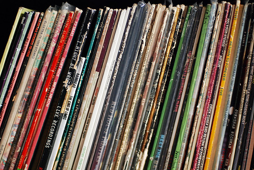 our record collection!