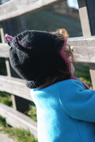 Black Kitty hat at the Park!