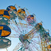Ferris wheel at the rides