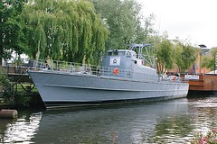 "Patrol boat ""Vale"" at Norwich"