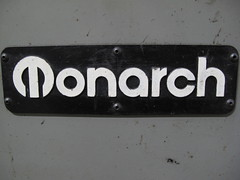 "Monarch 10EE 30"" name tag"