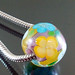 Charm bead : Viola