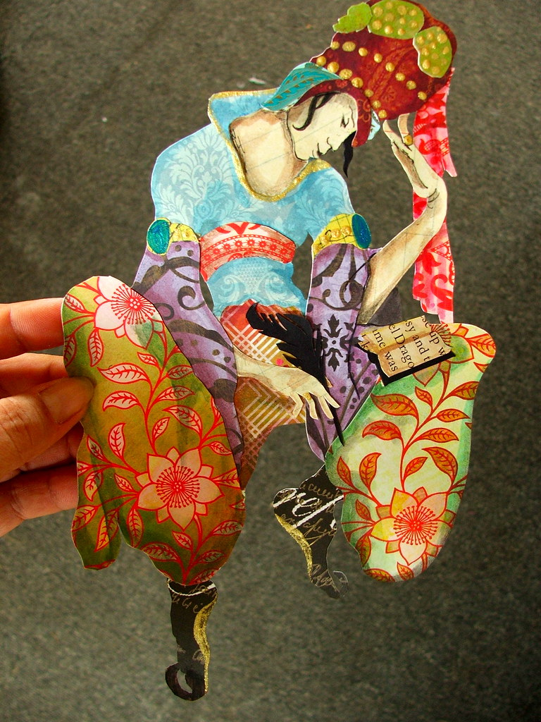 cut paper Gypsy