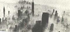 1970 NYC Skyline - Smog