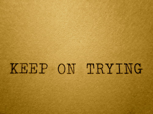 Keep On Trying