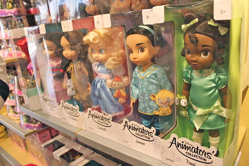 Dolls at The Disney Store