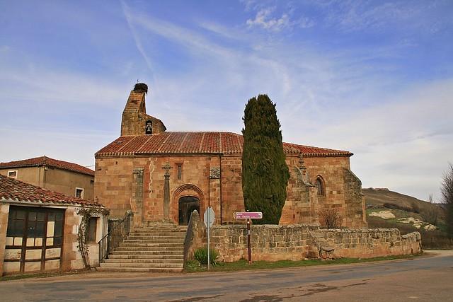 Iglesia de Santa Cecilia. Salas de los Infantes.Burgos.