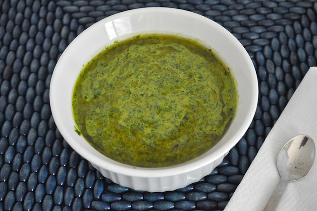 Green Onion Chimichurri
