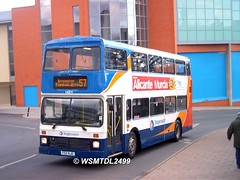 14511 F511 NJE Leyland Olympian Northern Counties. Cheeke Street EXETER