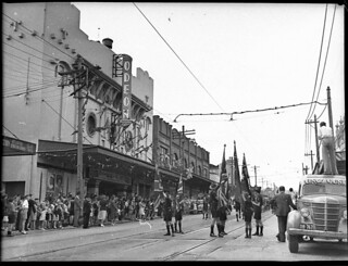 Opening Petersham Odeon, 15 February 1947, by Sam Hood