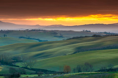 Val d'Orcia Sunrise