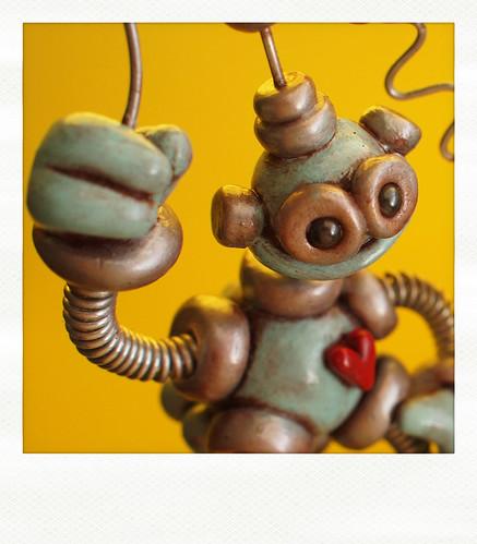 Sneak Peek | Happy Little Robot by HerArtSheLoves