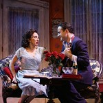 Andrea Martin as Serafina delle Rose and Dominic Fumusa as Alvaro Mangiacavallo in the Huntington Theatre Company's production of The Rose Tattoo presented at the BU Theatre / Avenue of the Arts. Part of the 2003-2004 season. Photo Credit: T Charles Erickson