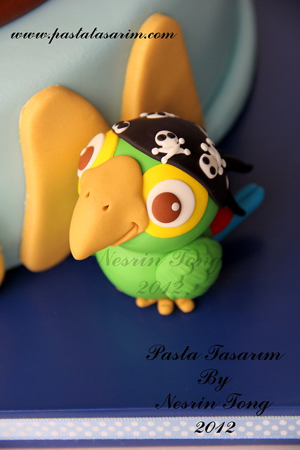 JAKE AND NEVERLAND PIRATES CAKE