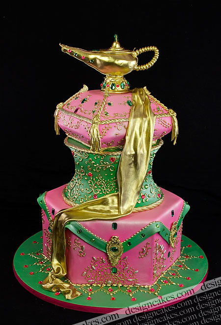 Genie Lamp Cake A Photo On Flickriver