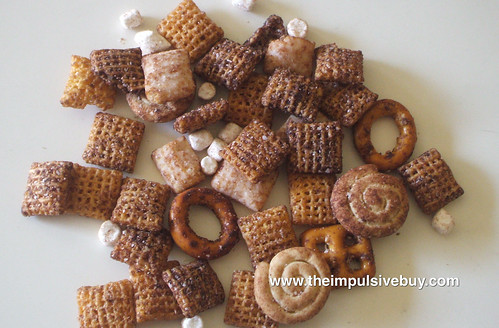 Limited Edition Cocoa Chex Mix Closeup