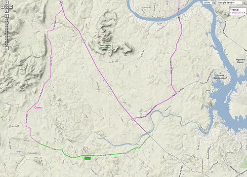 1-28-2012 Ride Route