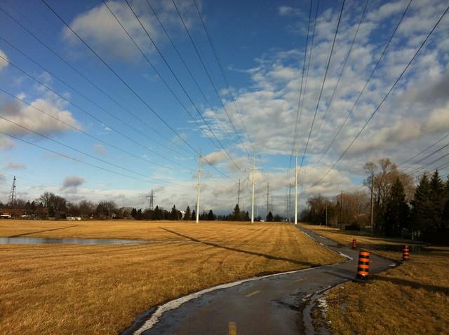 """Gatineau Hydro Corridor"" Trail, Toronto (Scarborough)"