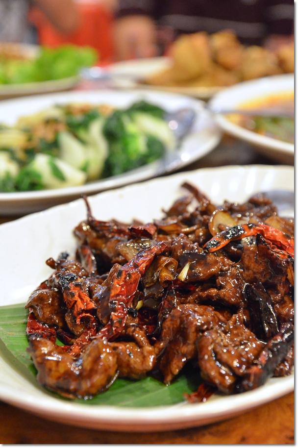 Kung Pou Deer Meat