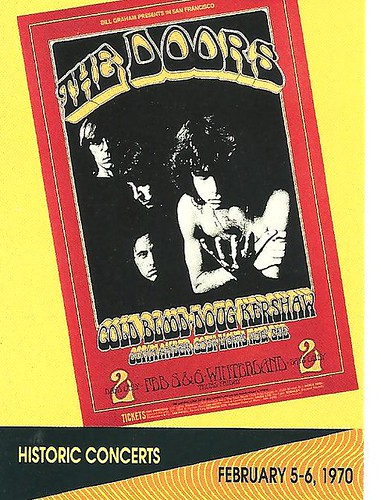 02/05 -06/70 Doors/Cold Blood/Doug Kershaw @ Winterland Arena, San Francisco, CA