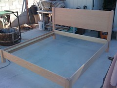 Unfinished Bed