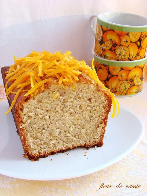 апельсиново-миндальный кекс 2