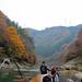 保津川:兩邊是美麗的秋季景色