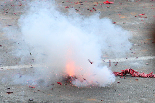 Exploding Firecrackers