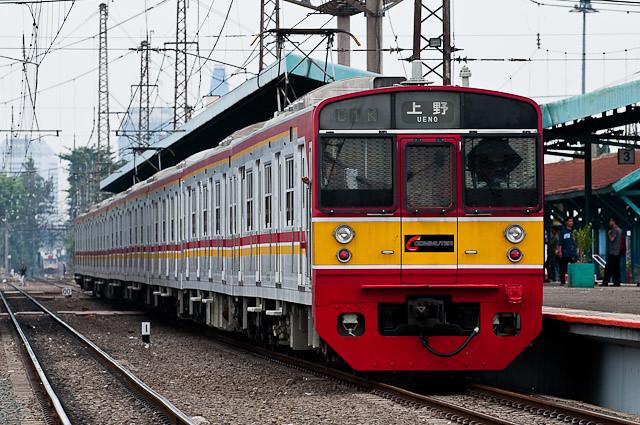 KCJ Seri203 Mato66F - 203系 マト66編成