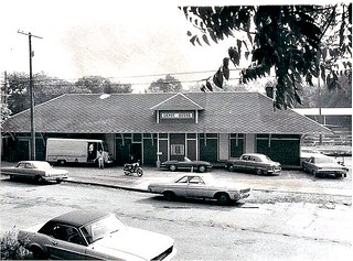 3abf0a52a1b Ann Arbor Railroad Depot on S. Ashley Street -- photographed in the 1960s  as the